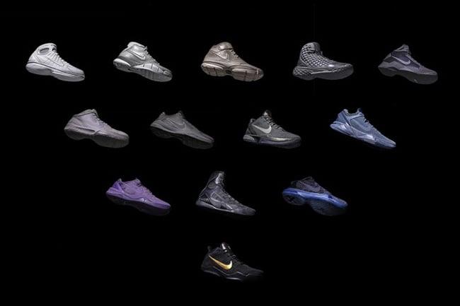 Kith Nike Kobe Black Mamba Pack Restock