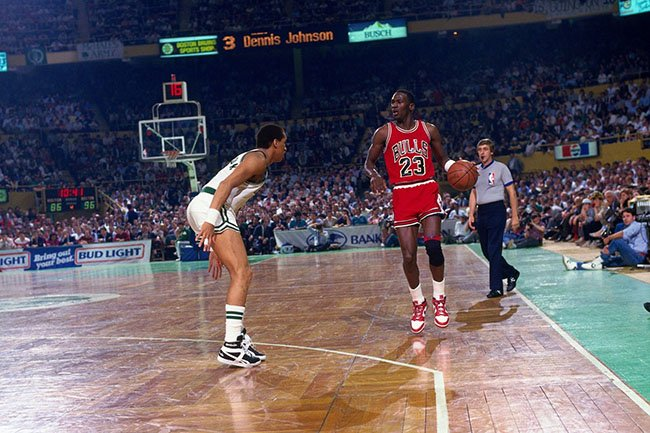 Michael Jordan 63 Points Boston Celtics Playoffs