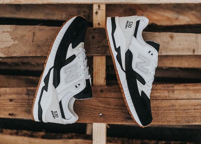 New Balance 530 White Black Gum   SneakerFiles