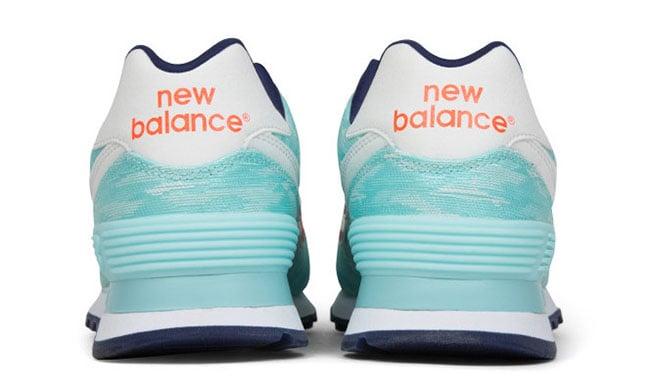 New Balance 574 Summer Waves Arctic Blue Dragonfly