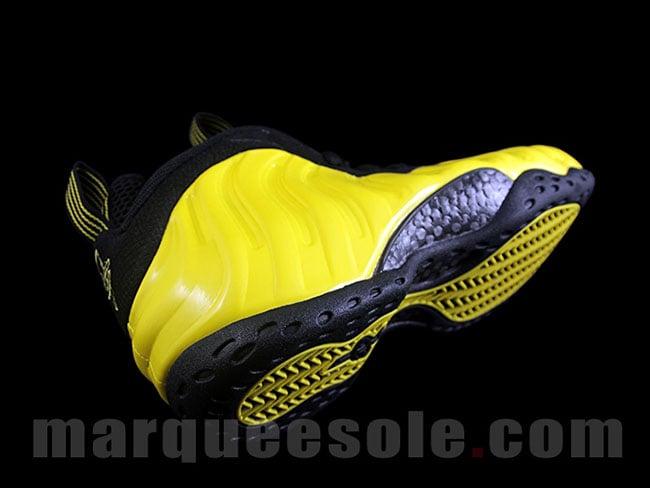 Nike Air Foamposite One Yellow Black