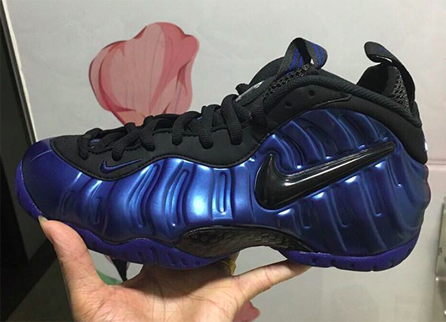 Nike Air Foamposite Pro Hyper Cobalt Blue Black