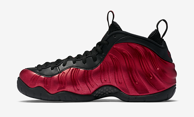 Nike Air Foamposite Pro University Red Black Official
