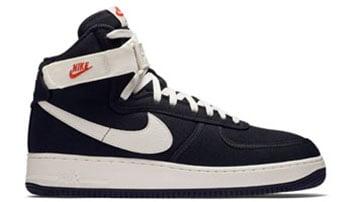 Nike Air Force 1 High Black Canvas