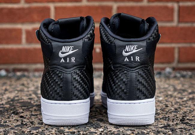 Nike Air Force 1 High Black Woven