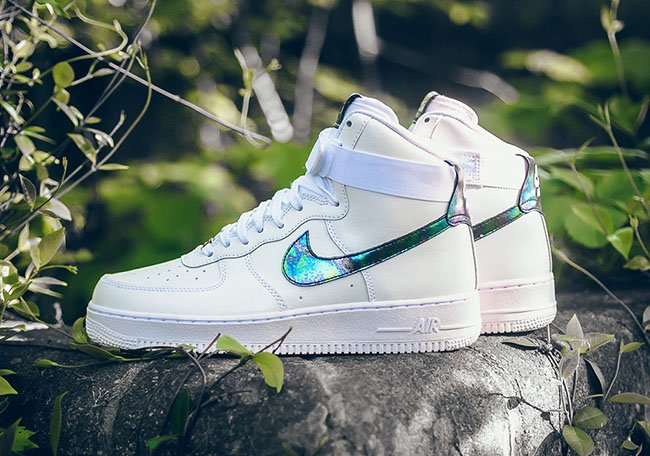 Nike Air Force 1 High Oil Slick White