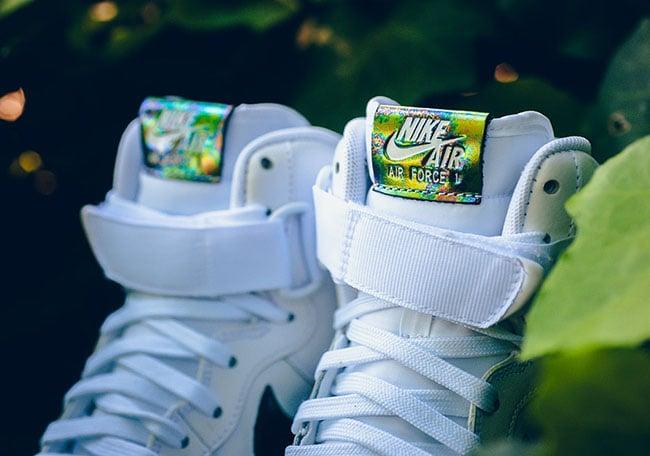 Nike Air Force 1 High Oil Slick White