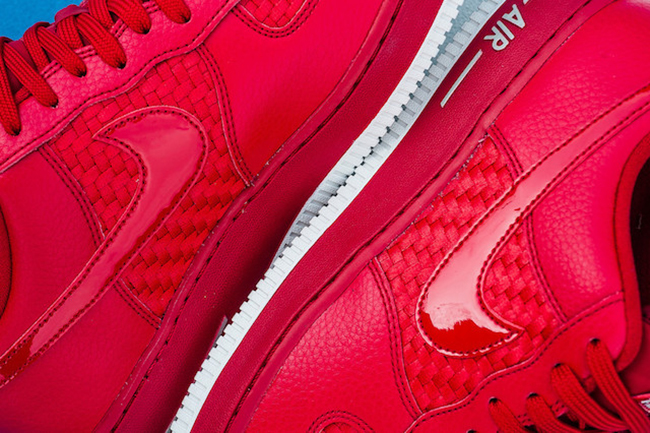 Nike Air Force 1 Low Woven Gym Red