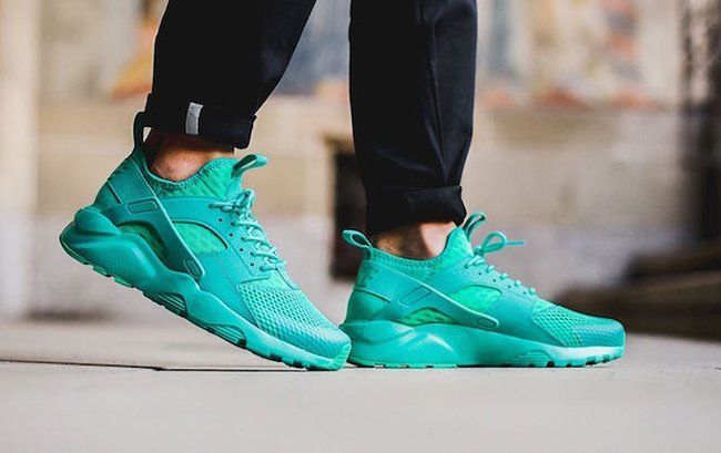 cf4b6160bb83 Nike Air Huarache Ultra BR Clear Jade