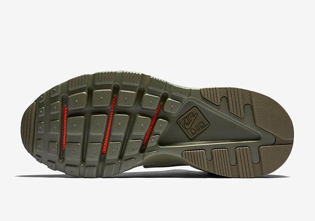 Nike Air Huarache Ultra Military Green
