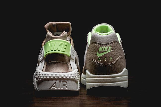 Nike Air Max 1 Huarache String Ghost Green