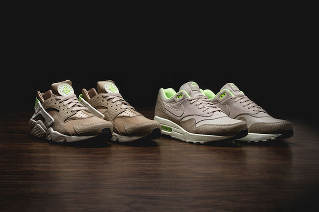 buy popular 0fd06 56f21 outlet Elephant and Safari Print Land on the Nike Air Max 1 and Huarache