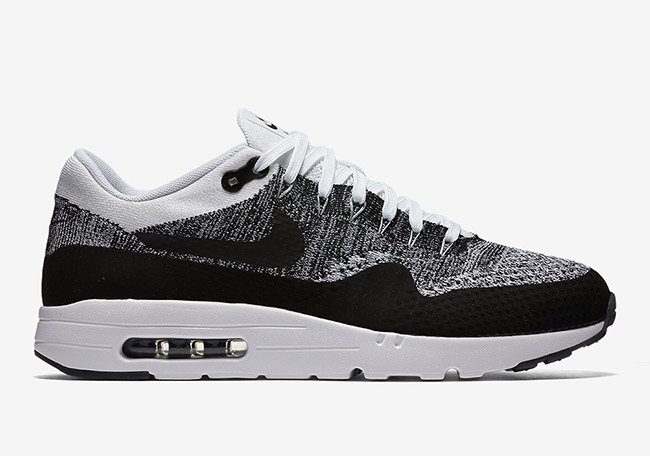 Nike Air Max 1 Ultra Flyknit Oreo Black White