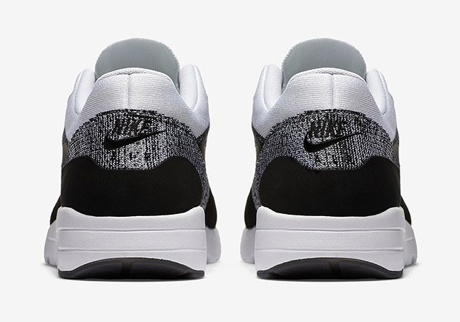 7ce9f246d68ec Nike Air Max 1 Ultra Flyknit Oreo Black White