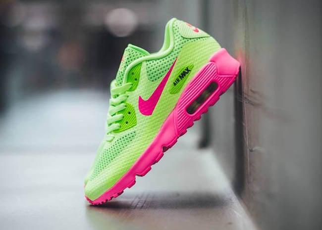 order air max 90 green neon pink 171b3 ce217