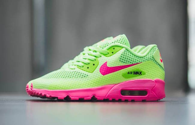 wholesale dealer d7c3e 7f2c5 lovely Nike Air Max 90 Breeze Ghost Green