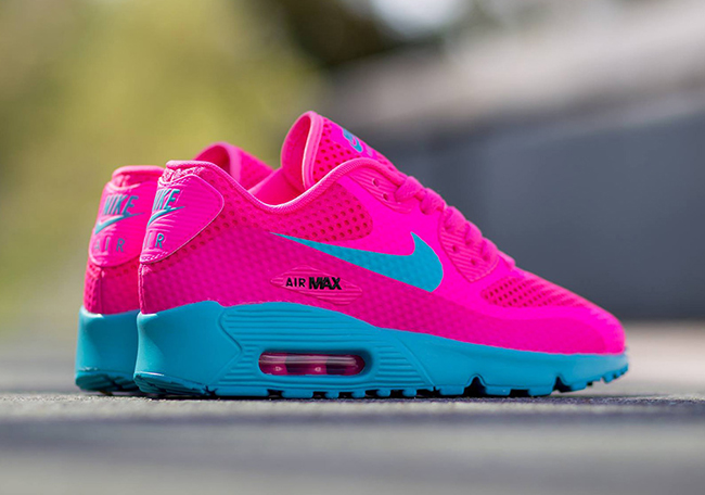 official photos 931f2 86d88 hot sale 2017 Nike Air Max 90 Breeze Pink Blast