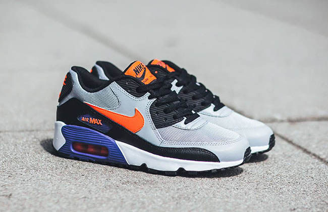online store 08d95 6b842 Nike Air Max 90 Mesh Wolf Grey free shipping