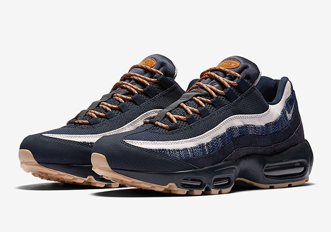 big sale 1549c 5728b Nike Air Max 95 Denim Gum