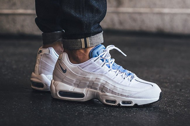 online store 18233 55645 outlet Nike Air Max 95 Essential Chalk Blue