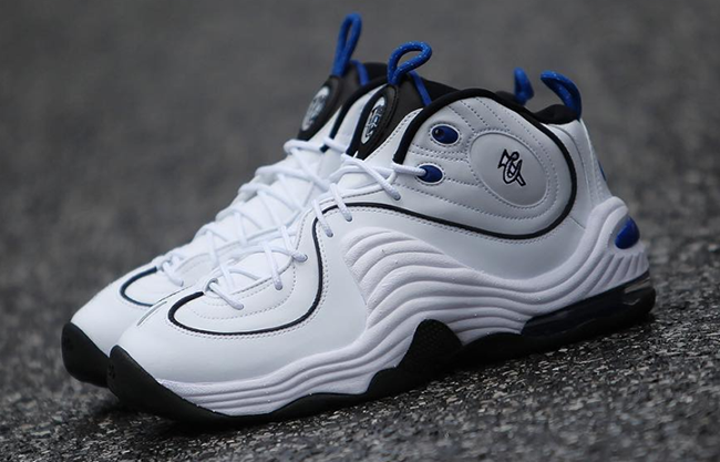 Nike Air Penny 2 White Blue 2016