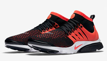 Nike Air Presto Ultra Flyknit Black Red Release Date