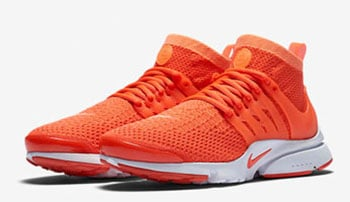 Nike Air Presto Ultra Flyknit Orange Release Date