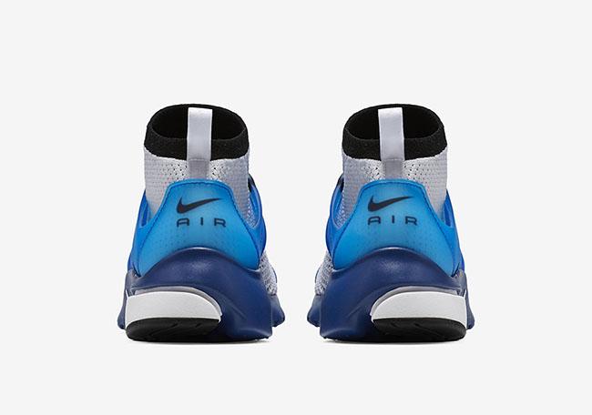 Nike Air Presto Ultra Flyknit White Racer Blue Midnight Navy Black