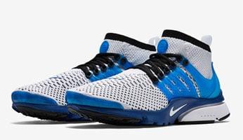 Nike Air Presto Ultra Flyknit White Racer Blue Release Date