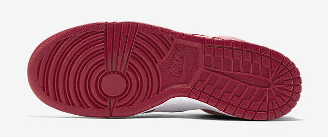 Nike Dunk College Color Red