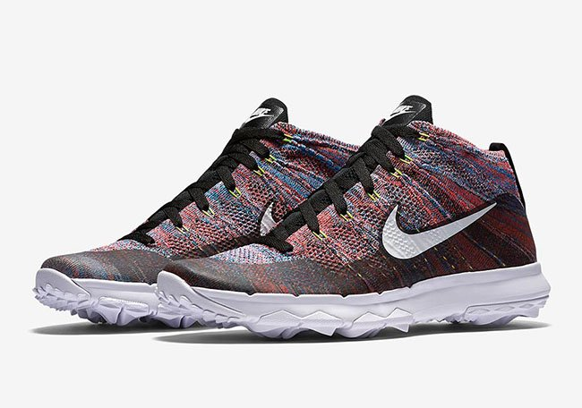 Nike Flyknit Chukka Golf Multicolor