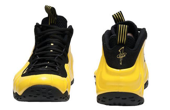 Nike Foamposite One Yellow