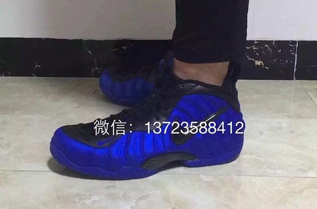 Nike Foamposite Pro Hyper Cobalt
