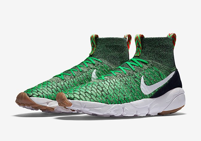 Nike Footscape Magista Flyknit Gorge Green