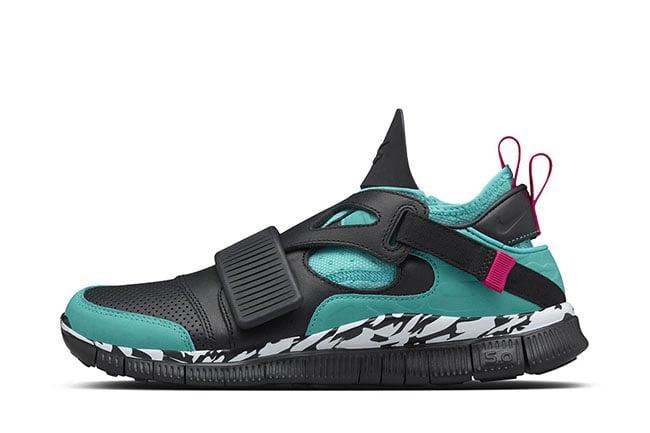 Nike Free Huarache Carnivore Emerald