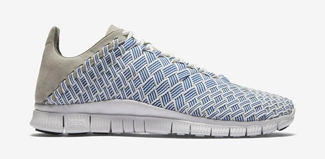 Nike Free Inneva Woven Fountain Blue Granite
