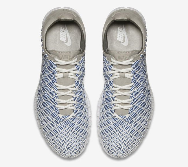 Nike Free Inneva Woven Fountain Blue Granite