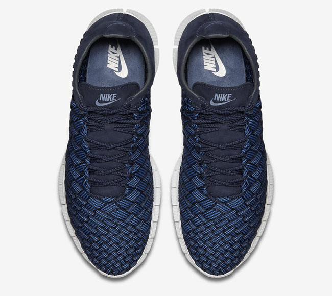 Nike Free Inneva Woven Fountain Blue Navy