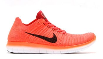 Nike Free RN Flyknit Bright Crimson