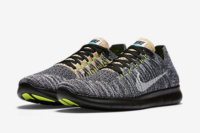 Nike Free RN Flyknit Multicolor