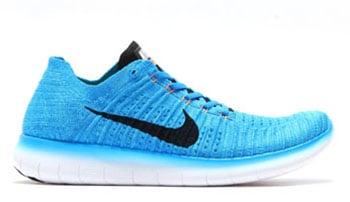 Nike Free RN Flyknit Gamma Blue