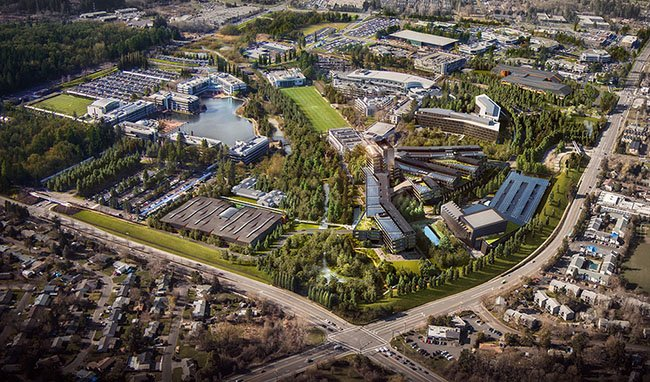 Nike HQ Beaverton Oregon Expansion