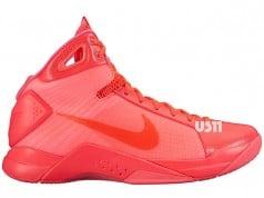 Nike Hyperdunk 2008 Solar Red Tonal