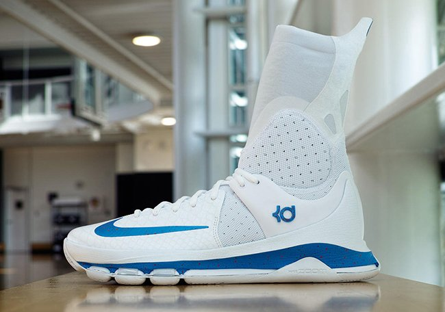 Nike KD 8 Elite White Blue PE