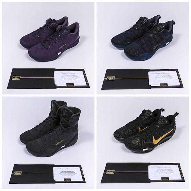 Nike Kobe Black Mamba Charity Autographed