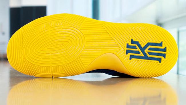 Nike Kyrie 2 Navy Yellow Cavs
