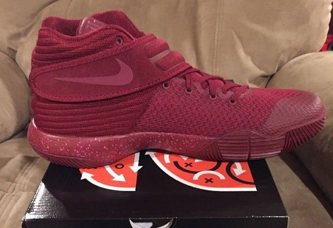 Nike Kyrie 2 Team Red Suede