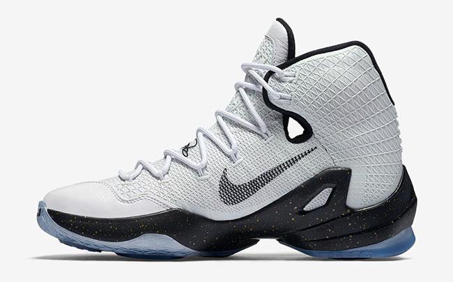 Nike LeBron 13 Elite Metallic Gold White Black