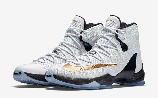 Nike LeBron 13 Elite Gold | SneakerFiles