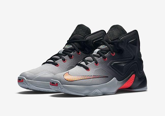 2f5d8c8688a00 Nike LeBron 13 GS Wolf Grey